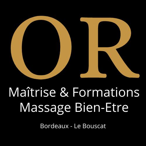 Logo Or Maitrise & Formation Couleur Noir
