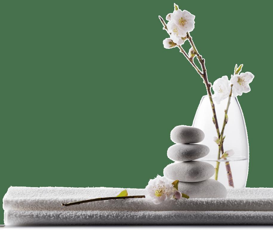 photo zenitude pierres et fleurs